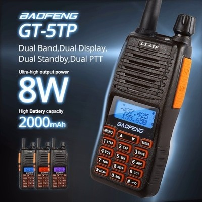 Photo of Baofeng GT-5TP Dual VHF/UHF Bant El Telsizi Özellikleri ve İnceleme