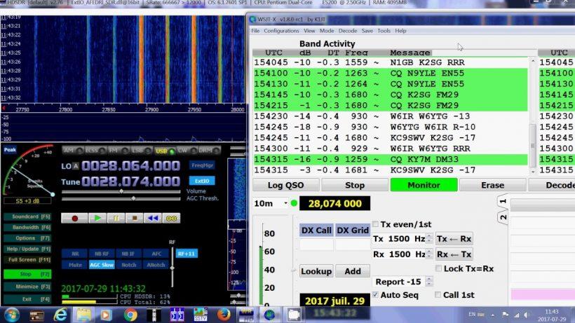 PSK, RTTY, JT65, JT9, FT8 Frequencies for Region-1 - TA1LSX