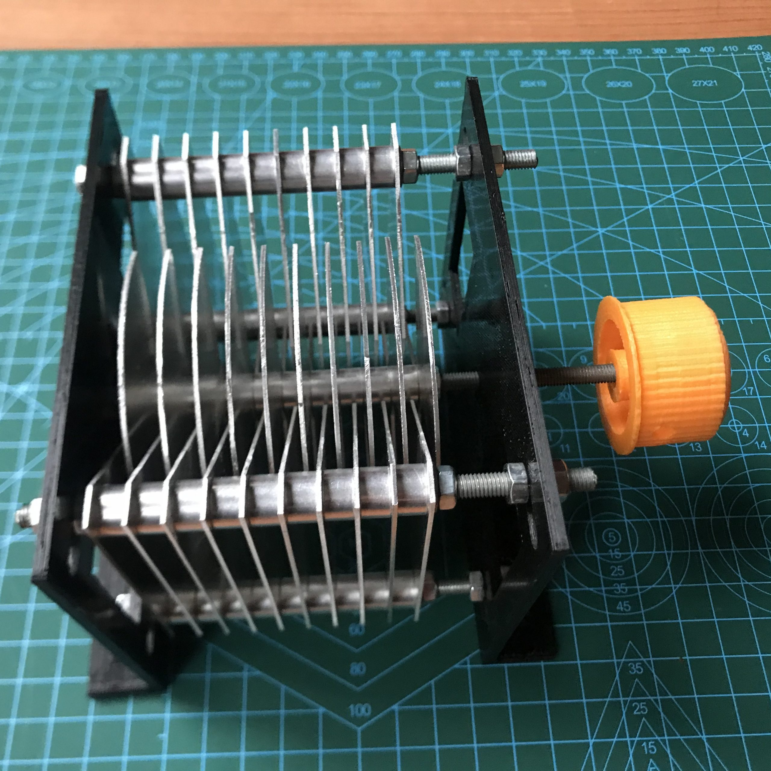 DIY Butterfly Capacitor