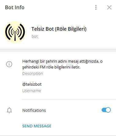 Telegram Röle Botu